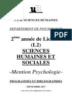 Brochure L2 psycho-2017 2018
