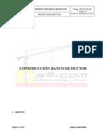 GPROY-PR-006 CONSTRUCCION BANCO DE DUCTOS
