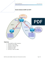 CCNPv7_ROUTE_Lab4-1_Redistribution_EIGRP_OSPF_Student.doc