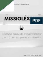 MISSIOLÉXICO - Criando Palavras e Expressões Para Melhor Pensar a Missiologia