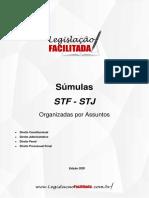 Súmulas STF e STJ Por Assunto Legislacao Facilitada