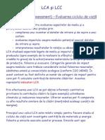LCA vs. LCC