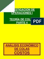 COLAS PARTE 4 (COSTOS)