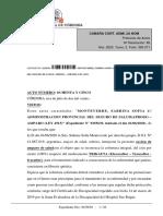 Fallo Sabrina Monteverde - Justicia de Córdoba