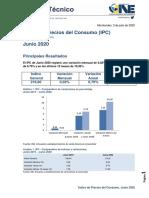 IPC Junio 2020