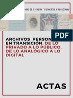 Actas II Congreso Archivos Personales 2019.pdf