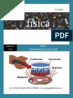 TRANSFERENCIA DE CALOR (Actividad para secundaria)