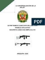 ESCOPETA LANZA GAS SJ101