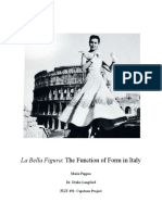 Bella Figura - Function of Form in Italy