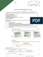 EVALUACION INTERMEDIA 1 5° AÑO MATEMATICA 2019 FINAL.doc
