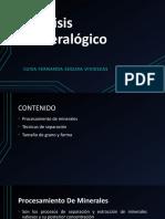Análisis Mineralógico EXPO SABADO.pptx