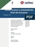 Tarea 10. Presentacion Final de Proyecto
