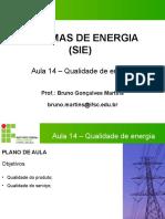 AULA 14 - SIE -QUALIDADE DE ENERGIA