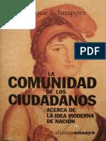 02 Dominique Schnapper - La comunidad de ciudadanos.pdf