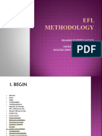 EFL METHODOLOGY