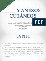 PIEL Y ANEXOS CUTÁNEOS