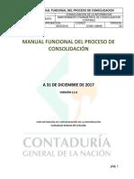 5263manual Funcional Del Proceso de Consolidación