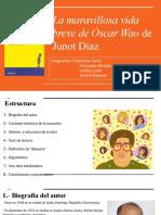 La maravillosa vida breve de Óscar Wao.pptx
