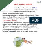DIA MUNDIAL DEL MEDIO AMBIENTE 04-06-20200