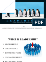 Leadership and Trust Presentation