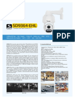 Cámara PTZ SD9364-EHL
