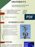 BANCO DE TRANSFORMADORES MONOFASICOS LAB 4.pptx