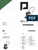 Manual Placa compactadora PC20
