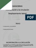 4.2 INCORPORACION Y DESP. LATERAL