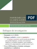 CLASIFICACION DE LA INVESTIGACION.pptx
