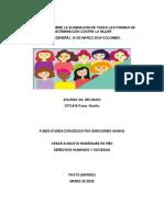 CONVENCION SOBRE LA ELIMINACION  DE TODAS LAS FORMAS  DE DISCRIMINACION  CONTRA LA MUJER.docx