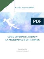 CÓMO SUPERAR EL MIEDO Y LA ANSIEDAD CON EFT-TAPPING