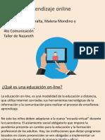 Aprendizaje Online Amira Malena y Morena