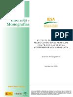 Estudio andalucense sobre riesgos de comprar en internet