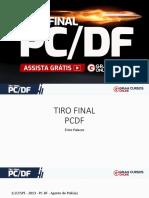 Tiro FiNAL PCDF - Crimes contra a pessoa e patrimônio