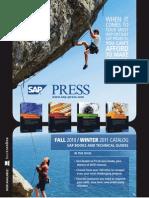 SAP PRESS Fall 2010 Winter 2011 Catalog