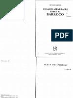 Ensayos generales sobre el Barroco_S Sarduy