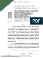STJ (HC 568.693) - dispensa de fiança COVID-19