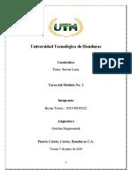 Tarea del Módulo No. 1  - Gestion Empresarial.docx
