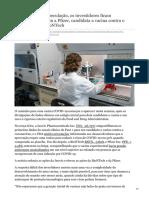 marketwatch.com-Após meses de especulação os investidores ficam entusiasmados com a Pfizer candidata a vacina contra