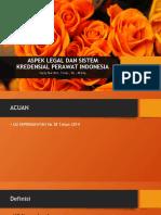 Aspek Legal Dan Kredensial Perawat Indonesia