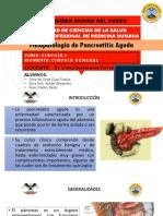 CIRUGIA GENERAL 1 - DIAPOS FISIOPATOLOGIA DE LA APENDICITIS AGUDA