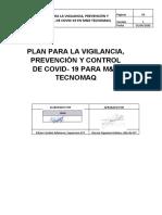 Plan para la Vigilancia Prevencion y Control del COVID 19 en MYR TECNOMAQ.docx