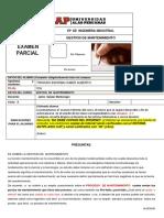 EXAMEN PARCIAL  2020 -1-GM
