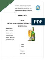 cerveza CLUB PREMIUM