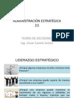 Administración estratégica 01