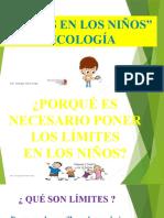 Límites en los niños - Neuropsicología