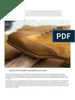 Zapatos personalizados_ lujo español para tus pies