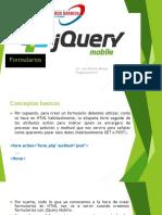 Formularios Jquery Mobile