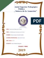 INFORME PLANIFICACIÓN EN EL CICLO I.doc