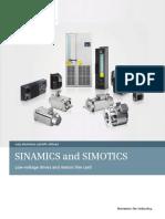 Sinamics and Simotics Line Card